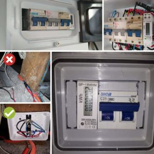 Mantenimiento de Propiedades - termica, disyuntor y medidor - electricidad